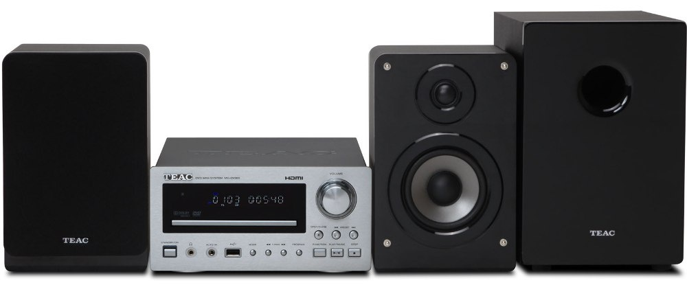 TEAC MC-DV600 - DVD/CD система 2.1 с USB и радио