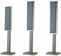 Bowers & Wilkins FS-FPM 4/5 METAL STAND - Напольный стенд для FPM 4/5