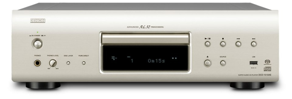 Denon DCD-1510AE - CD/Super Audio CD плеер