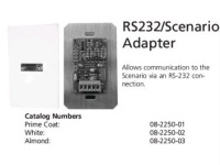 LiteTouch RS232/Scenario Adapter - Адаптер RS232