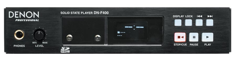 Denon DN-F400 - Solid State Audio Player