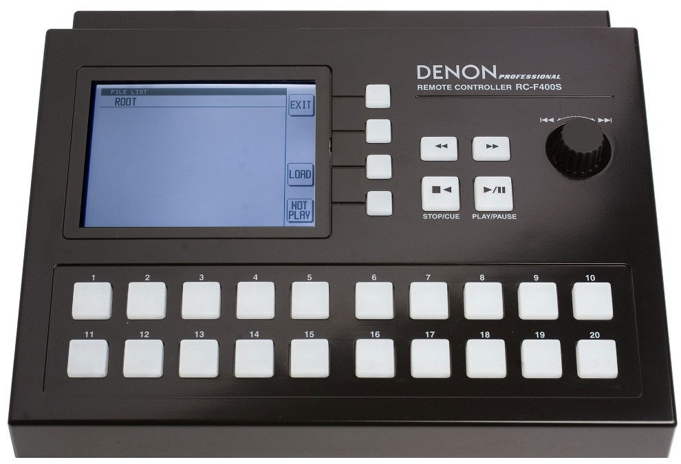 Denon RC-F400S - Wired Controller for DN-F400 & DN-F650R
