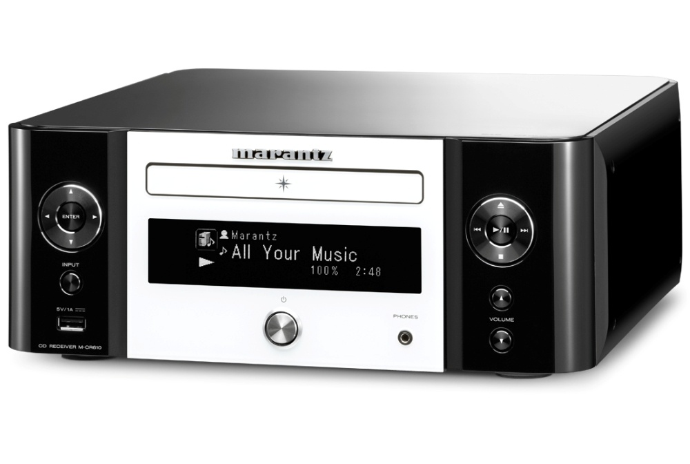 Marantz Melody Media M-CR610 - Сетевая CD-минисистема с Wi-Fi и AirPlay