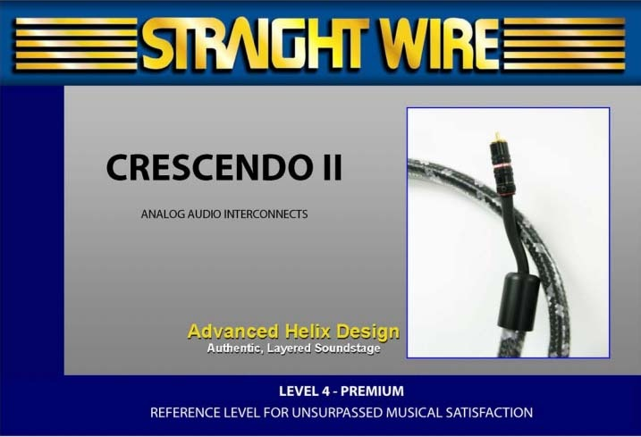 Straight Wire Crescendo II IC - Аудио кабель XLR