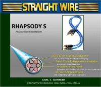 Straight Wire Rhapsody S IC - Аудио кабель RCA